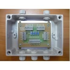 Коммуникационная коробка на 4 датчика SB4P