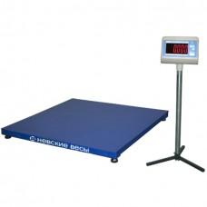 Платформенные весы ВСП4-300А 1250x1000 из конструкционной стали